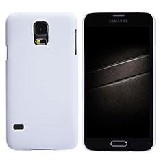 Samsung Galaxy S5 G900F G903F用ハードケース プラスチック 質感もマット M02 サムスン ホワイト