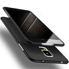 Samsung Galaxy S5 G900F G903F用極薄ソフトケース シリコンケース 耐衝撃 全面保護 S02 サムスン ブラック