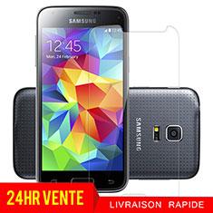 Samsung Galaxy S5 Mini G800F G800H用強化ガラス 液晶保護フィルム T01 サムスン クリア