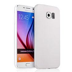 Samsung Galaxy S6 Duos SM-G920F G9200用ハードケース プラスチック 質感もマット サムスン ホワイト
