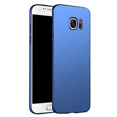 Samsung Galaxy S6 Duos SM-G920F G9200用ハードケース プラスチック 質感もマット M02 サムスン ネイビー