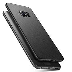 Samsung Galaxy S6 Duos SM-G920F G9200用ハードケース カバー プラスチック Q01 サムスン ブラック