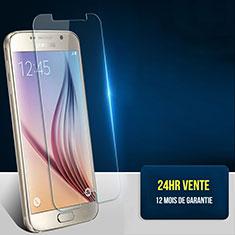 Samsung Galaxy S6 Duos SM-G920F G9200用強化ガラス 液晶保護フィルム T01 サムスン クリア