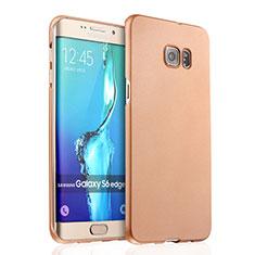 Samsung Galaxy S6 Edge+ Plus SM-G928F用ハードケース プラスチック 質感もマット サムスン ゴールド