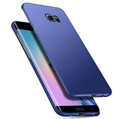 Samsung Galaxy S6 Edge+ Plus SM-G928F用ハードケース プラスチック 質感もマット M01 サムスン ネイビー