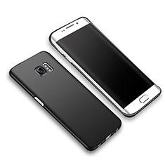 Samsung Galaxy S6 Edge+ Plus SM-G928F用ハードケース プラスチック 質感もマット M03 サムスン ブラック