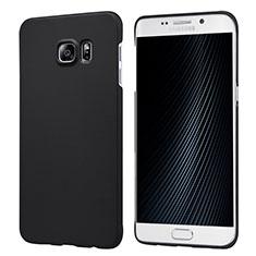 Samsung Galaxy S6 Edge+ Plus SM-G928F用ハードケース プラスチック 質感もマット M04 サムスン ブラック