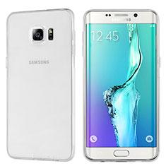 Samsung Galaxy S6 Edge+ Plus SM-G928F用極薄ソフトケース シリコンケース 耐衝撃 全面保護 クリア透明 T04 サムスン クリア