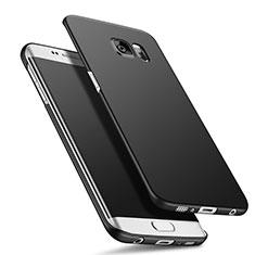 Samsung Galaxy S6 Edge SM-G925用ハードケース プラスチック 質感もマット M01 サムスン ブラック
