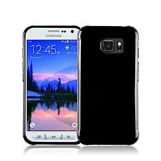 Samsung Galaxy S7 Active G891A用シリコンケース ソフトタッチラバー サムスン ブラック
