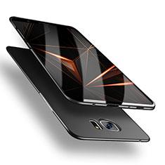 Samsung Galaxy S7 Edge G935F用ハードケース プラスチック 質感もマット M03 サムスン ブラック