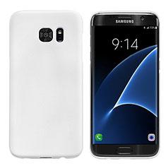 Samsung Galaxy S7 Edge G935F用ハードケース プラスチック 質感もマット M10 サムスン ホワイト