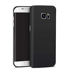 Samsung Galaxy S7 Edge G935F用ハードケース プラスチック 質感もマット M11 サムスン ブラック