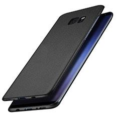 Samsung Galaxy S7 Edge G935F用ハードケース プラスチック 質感もマット M15 サムスン ブラック