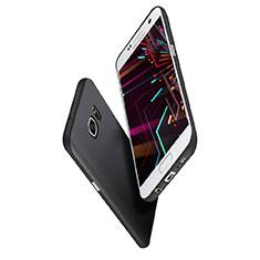 Samsung Galaxy S7 Edge G935F用極薄ソフトケース シリコンケース 耐衝撃 全面保護 S02 サムスン ブラック