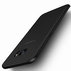Samsung Galaxy S7 Edge G935F用シリコンケース ソフトタッチラバー 質感もマット サムスン ブラック