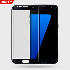Samsung Galaxy S7 Edge G935F用強化ガラス 液晶保護フィルム 3D サムスン ブラック