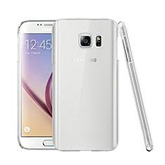 Samsung Galaxy S7 G930F G930FD用ハードケース クリスタル クリア透明 サムスン クリア