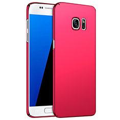 Samsung Galaxy S7 G930F G930FD用ハードケース プラスチック 質感もマット M02 サムスン レッド