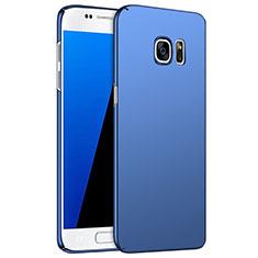 Samsung Galaxy S7 G930F G930FD用ハードケース プラスチック 質感もマット M02 サムスン ネイビー