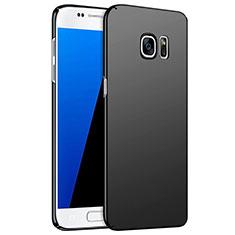 Samsung Galaxy S7 G930F G930FD用ハードケース プラスチック 質感もマット M02 サムスン ブラック