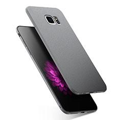 Samsung Galaxy S7 G930F G930FD用極薄ソフトケース シリコンケース 耐衝撃 全面保護 サムスン グレー