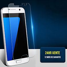 Samsung Galaxy S7 G930F G930FD用強化ガラス 液晶保護フィルム T02 サムスン クリア