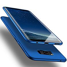 Samsung Galaxy S8用シリコンケース ソフトタッチラバー サムスン ネイビー
