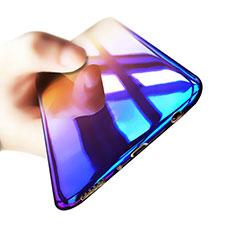Samsung Galaxy S8用極薄ソフトケース グラデーション 勾配色 クリア透明 サムスン マルチカラー