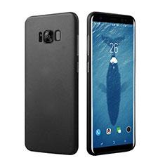 Samsung Galaxy S8用ハードケース プラスチック 質感もマット M16 サムスン ブラック