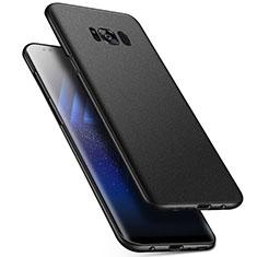 Samsung Galaxy S8用ハードケース プラスチック 質感もマット M17 サムスン ブラック