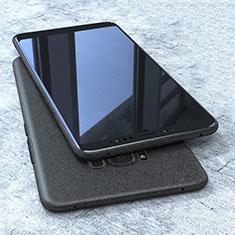 Samsung Galaxy S8用極薄ソフトケース シリコンケース 耐衝撃 全面保護 S10 サムスン ブラック