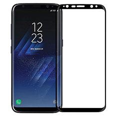 Samsung Galaxy S8用強化ガラス フル液晶保護フィルム F12 サムスン ブラック