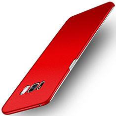 Samsung Galaxy S8 Plus用ハードケース プラスチック カバー サムスン レッド