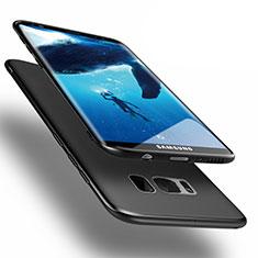 Samsung Galaxy S8 Plus用ハードケース プラスチック 質感もマット M15 サムスン ブラック