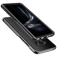 Samsung Galaxy S8 Plus用ハードケース クリスタル クリア透明 サムスン クリア