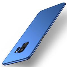 Samsung Galaxy S9用ハードケース プラスチック 質感もマット M01 サムスン ネイビー