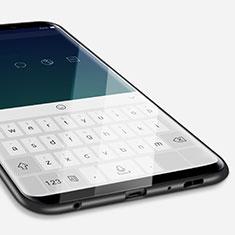 Samsung Galaxy S9用極薄ソフトケース シリコンケース 耐衝撃 全面保護 S04 サムスン ブラック