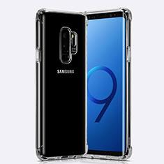 Samsung Galaxy S9 Plus用極薄ソフトケース シリコンケース 耐衝撃 全面保護 クリア透明 T22 サムスン クリア