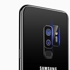 Samsung Galaxy S9 Plus用強化ガラス カメラプロテクター カメラレンズ 保護ガラスフイルム C01 サムスン クリア