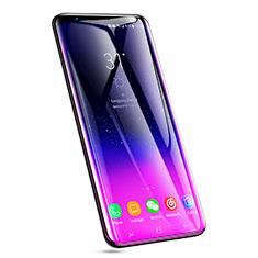 Samsung Galaxy S9 Plus用強化ガラス フル液晶保護フィルム F08 サムスン ブラック