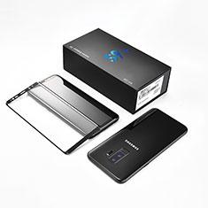 Samsung Galaxy S9 Plus用強化ガラス フル液晶保護フィルム F10 サムスン ブラック
