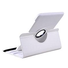 Samsung Galaxy Tab 2 10.1 P5100 P5110用手帳型 レザーケース スタンド サムスン ホワイト
