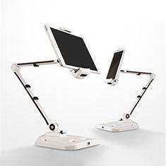 Samsung Galaxy Tab 4 10.1 T530 T531 T535用スタンドタイプのタブレット クリップ式 フレキシブル仕様 H07 サムスン ホワイト