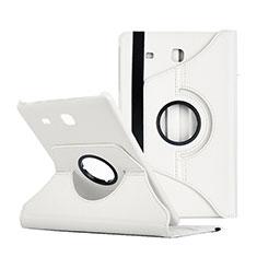 Samsung Galaxy Tab E 9.6 T560 T561用手帳型 レザーケース スタンド サムスン ホワイト