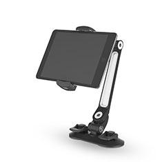 Samsung Galaxy Tab E 9.6 T560 T561用スタンドタイプのタブレット クリップ式 フレキシブル仕様 H02 サムスン ブラック