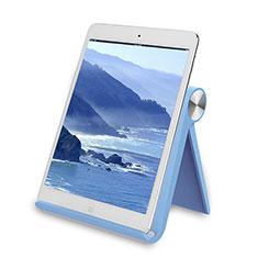 Samsung Galaxy Tab S 10.5 LTE 4G SM-T805 T801用スタンドタイプのタブレット ホルダー ユニバーサル T28 サムスン ブルー