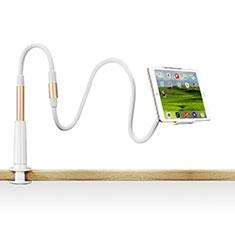 Samsung Galaxy Tab S 10.5 SM-T800用スタンドタイプのタブレット クリップ式 フレキシブル仕様 T33 サムスン ゴールド