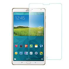 Samsung Galaxy Tab S 8.4 SM-T705 LTE 4G用強化ガラス 液晶保護フィルム T01 サムスン クリア