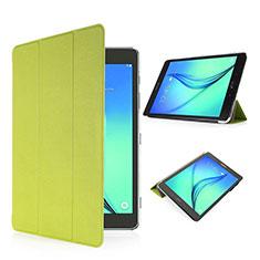 Samsung Galaxy Tab S2 8.0 SM-T710 SM-T715用手帳型 レザーケース スタンド サムスン グリーン